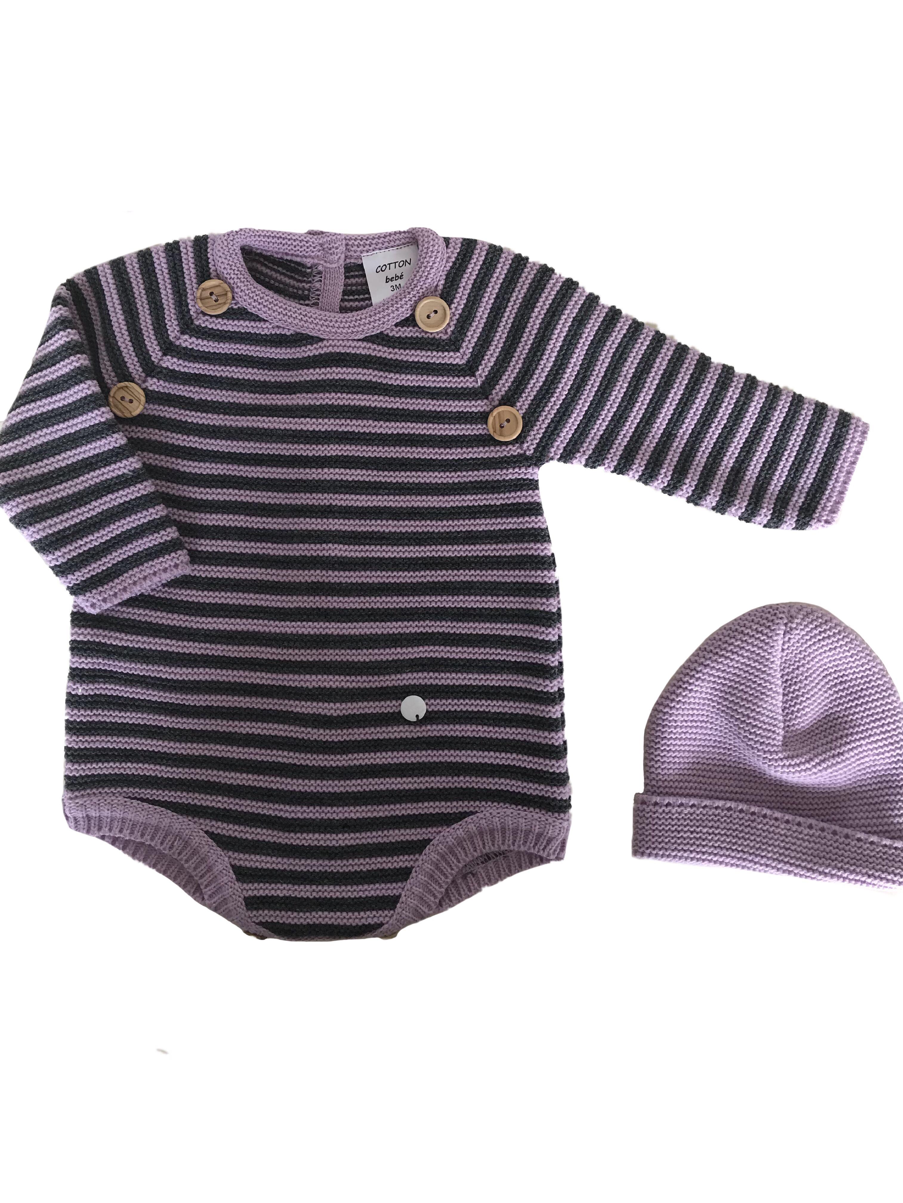 """22bb7f3887a7e """"conjuntos de punto de tricot originales cotton bebé"""". """"Ropa bonita de  primera · """""""