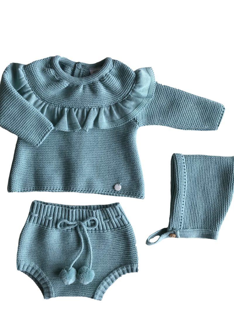 """""""conjuntos de punto de tricot originales cotton bebé"""". """"Ropa bonita de primera puesta"""". """"Ropita para los primeros meses"""". """"Ropa bebe"""". """"Cotton-bebe"""". """"ropa de punto"""". """"De venta en la tienda online cotton-bebe"""". """"Body de punto para bebé"""". """"chaqueta de bebé"""". """"Complementos de moda"""". """"Bebé molón"""". """"color verde para bebé"""". """"conjunto de polaina- mono"""". """"conjunto verde de punto"""". """"Ropa de punto"""". """"Cotton Bebe"""". """"Tricot"""". """"Polaina de bebé """". """"Verde militar para bebé """". """"Mono de bebé """". """"Chaqueta de coletas bebé """". """"Conjuntos color kaki"""". """"Jersey de rayas para bebé """". """"Polaina de bebé """". """"Rosa bebé """". """"Ranita verde de bebé """". """"Jersey de volantes para bebé """""""